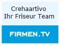 Logo Crehaartivo  Ihr Friseur Team