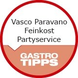 Logo Vasco Paravano Feinkost Partyservice