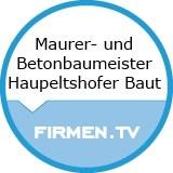 Logo Maurer- und Betonbaumeister  Haupeltshofer Baut