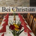 """Logo Speiselokal """"Bei Christian"""""""