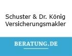 Logo Schuster & Dr. König KG  Versicherungsmakler