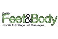 Logo Happy Feet & Body  mobile Fußpflege & Massagen