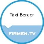 Logo Taxi Berger Inh. Peter Pertl