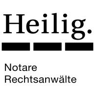 Logo Heilig.  Notare  Rechtsanwälte