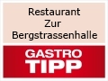 "Logo Restaurant  ""Zur Bergstrassenhalle"""