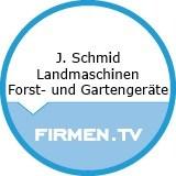 Logo J. Schmid Landmaschinen Forst- und Gartengeräte