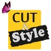 Logo Frisörsalon Cut & Style