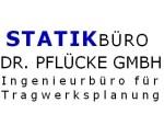 Logo Statikbüro Dr. Pflücke GmbH / Prüfingenieurbüro Dr.-Ing. Torsten Pflücke