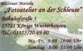 """Logo Fotoatelier """"An der Schleuse"""" Inh. Waltraut Matiske"""