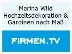 Logo Marina Wild Hochzeitsdekoration & Gardinen nach Maß