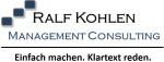 Logo Ralf Kohlen Management Consulting Unternehmensführung und Organisationsentwicklung  mit Qualitätsmanagement 4.0