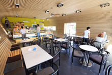 Cafe Merlin im Bürgerhaus