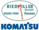 Logo Riedmiller GmbH  Baumaschinenverleih & Landschaftspflege
