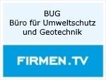 Logo BUG Büro für Umweltschutz und Geotechnik