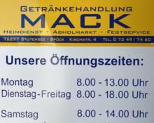 Getränke Mack