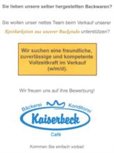 Bäckerei Kaiserbeck GmbH