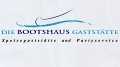 Logo Die Bootshaus-Gaststätte