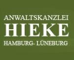 Logo Anwaltskanzlei Hieke