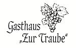 """Logo Gasthaus """"Zur Traube"""""""