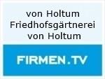 Logo Friedhofsgärtnerei von Holtum