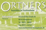 Logo Ortner's Restaurant im Trachtenheim Königsbrunn