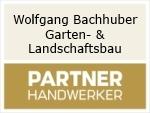 Logo Wolfgang Bachhuber  Garten- & Landschaftsbau mit Pflastersteingestaltung