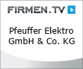 Logo Elektro Pfeuffer GmbH & Co. KG