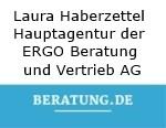 Logo Laura Haberzettel Hauptagentur der ERGO Beratung und Vertrieb AG