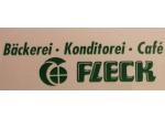 Logo Bäckerei - Konditorei - Café Fleck