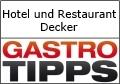Logo Hotel und Restaurant Decker