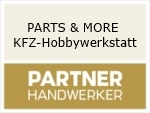 Logo PARTS & MORE KFZ-Hobbywerkstatt