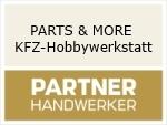 Logo PARTS & MORE KFZ-Hobbywerkstatt