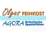 Logo Olgas Feinkost AGORA Griechische Spezialitäten