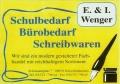 Logo E. u. I. Wenger Schreibwaren - Bürobedarf
