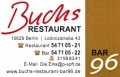 Logo Buchs  Restaurant Bar 96