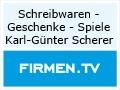 Logo Schreibwaren - Geschenke - Spiele Karl-Günter Scherer