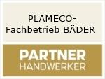 Logo PLAMECO-Fachbetrieb BÄDER