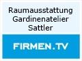 Logo Raumausstattung Gardinenatelier Sattler