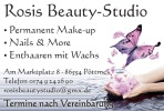 Logo Rosi´s Beauty-Studio  Nagelstudio & Permanent Make-up