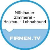 Logo Mühlbauer  Zimmerei - Holzbau - Lohnabbund