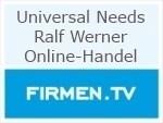 Logo Universal Needs Ralf Werner Online-Handel