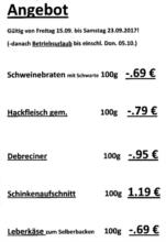 Metzgerei Fleischwaren Schwab