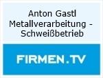 Logo Anton Gastl Metallverarbeitung - Schweißbetrieb