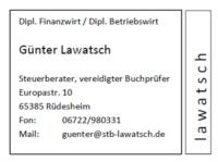Logo Steuerberater Günter Lawatsch