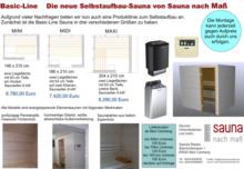 Sauna nach Maß Sandra Riedel