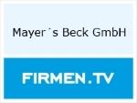 Logo Mayer's Beck GmbH  Bäckerei-Konditorei-Cafe