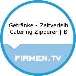 Logo Getränke - Zeltverleih Catering Zipperer | B