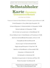 Gersters Genusswerkstatt im Zieglerbräu