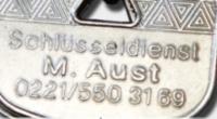 Logo Schlüsseldienst  Manfred Aust