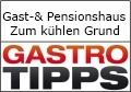 """Logo Gast- und Pensionshaus """"Zum kühlen Grund"""""""